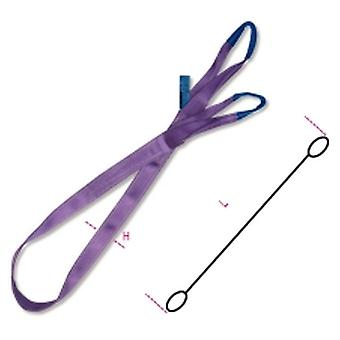 Beta 8150 1000-Mt2 Web Slings Purple 1T High-Tenacity Belt 1000Kg 2 Metre