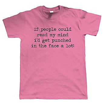 If People Could Read My Mind, Mens Funny T Shirt