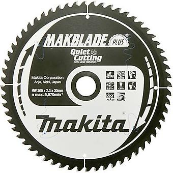 Carbide metal circular saw blade 260 x 30 x 1 mm Number of cogs: 48 Makita MAKBLADE+ B-33495 1 pc(s)
