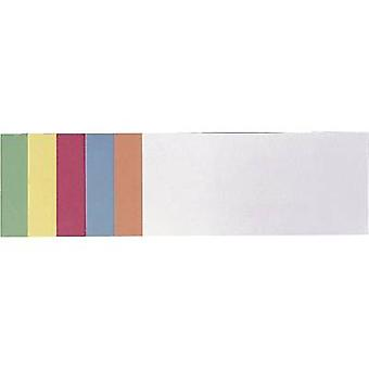 Franken Cards Assorted colours Rectangular 9.5 cm x 20.5 cm 500 pcs/pack
