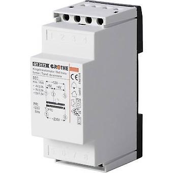Bell transformer 4 V AC, 8 V AC, 12 V AC 2 A Heidemann 70044