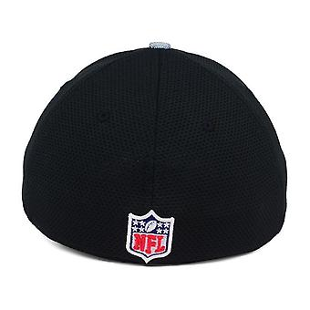 Oakland Raiders NFL New Era 39Thirty Sideline Stretch Fitted Hat