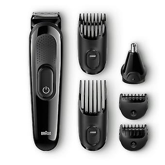 Braun MGK3020 Rechargeable 6-in-1 Face & Head Trimming Multi Grooming Kit