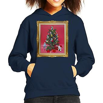 Ursprungliga Stormtrooper Christmas Tree Kid är Hooded Sweatshirt