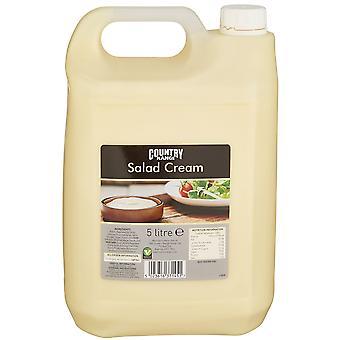 Land Auswahl-Salat-Creme