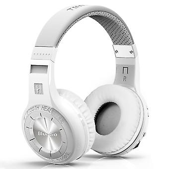 Bluedio Bluetooth radiotelegram Stereo koptelefoon HT Turbine-wit