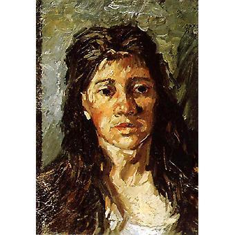 Study of Portrait of woman, Vincent Van Gogh, 40x60cm