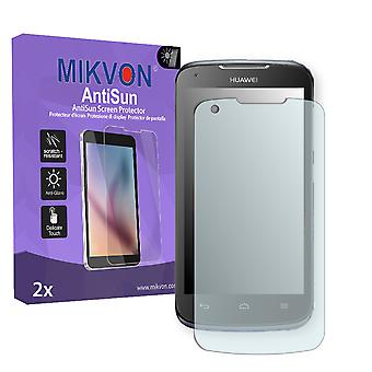 Huawei Ascend Y520 Screen Protector - Mikvon AntiSun (Retail Package with accessories)