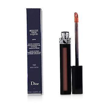 Christian Dior Rouge Dior Liquid Lip Stain - # 162 Miss Satin (Pinky Coral) - 6ml/0.2oz
