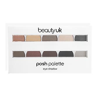 Beauty UK Posh Palette Large Eye Palette No. 2 Masquerade