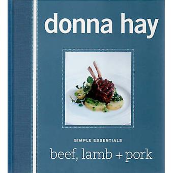 Beef - Lamb and Pork by Donna Hay - 9780732285821 Book
