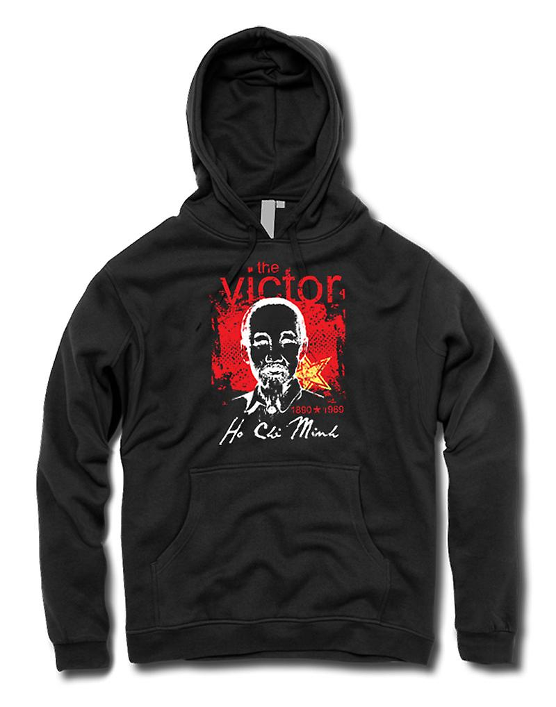 Mens Hoodie - Ho Chi Minh The Victor - Vietnam - Communism
