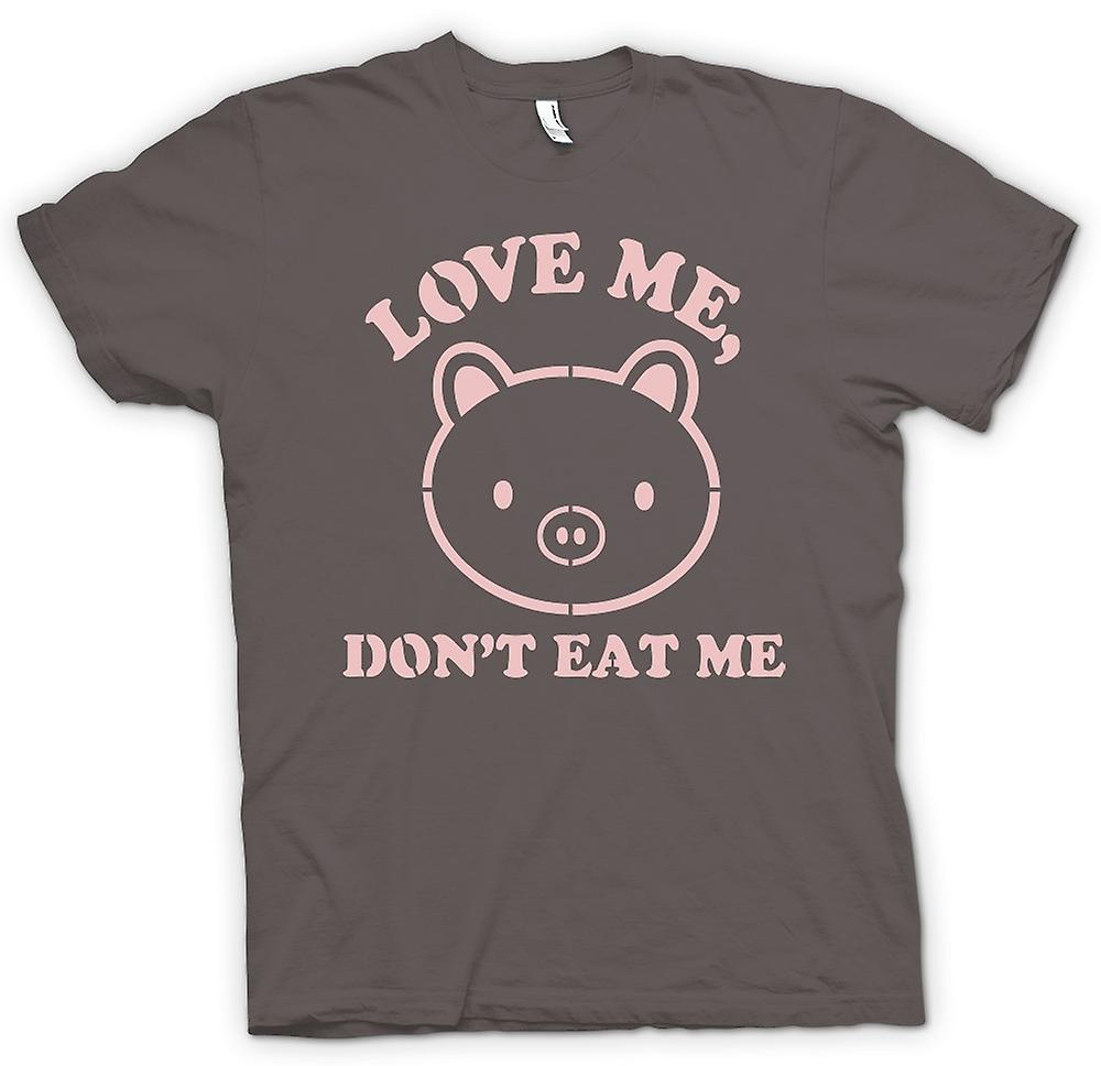 Womens T-shirt - Love Me, Don t Eat Me - Funny