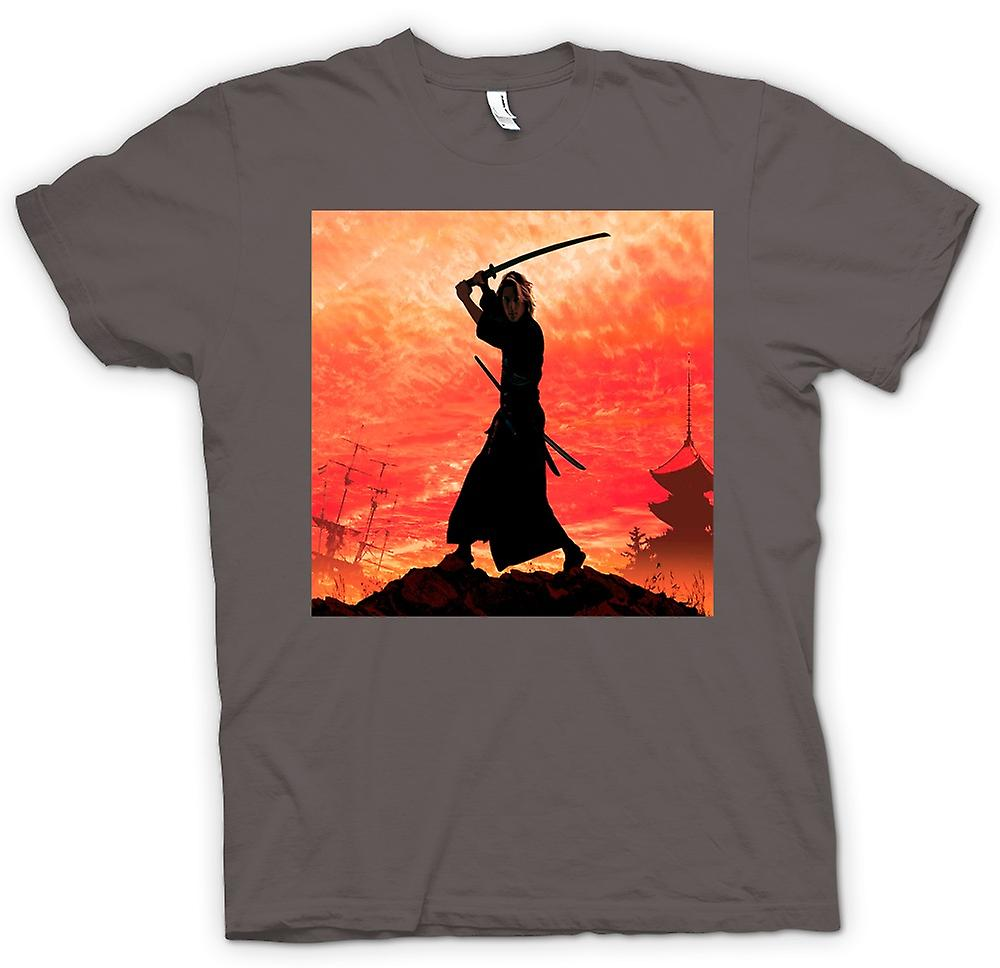 Mens T-shirt - Samurai Fighter