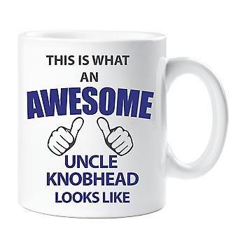 This Is What An Awesome Uncle Knobhead Looks Like Mug