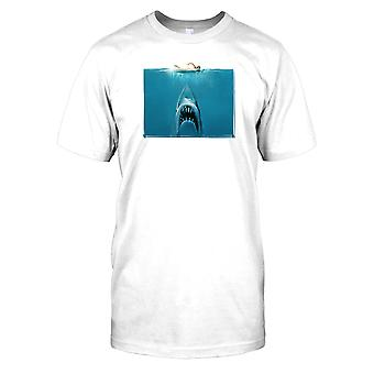 Jaws Movie Poster Mens T Shirt