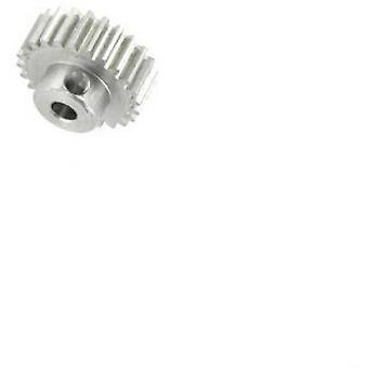 Motor pinion Reely Module Type: 0.6 Bore diameter: 3.2 mm No. of teeth: 25
