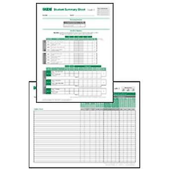 Fiches de synthèse dossier scolaire TPRI et classe - Grade 2 par Brookes Publ