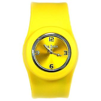 Slap Yellow Dial Unisex Watch SW-007