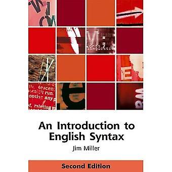 En introduksjon til engelsk syntaks (Edinburgh lærebøker på engelsk)