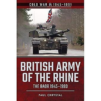 Brittiska armén av Rhinen
