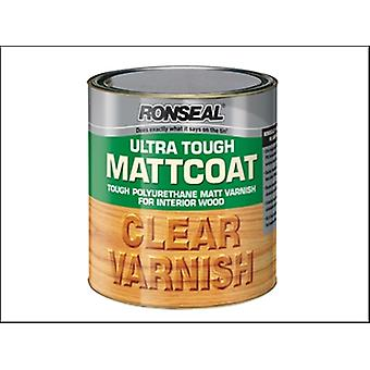 Ronseal Ultra dur interne clair Mattcoat vernis 750ml