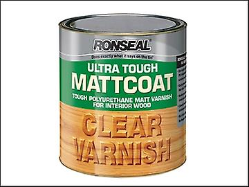 Ronseal Ultra Tough Internal Clear Mattcoat Varnish 750ml
