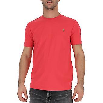 Ralph Lauren Fuchsia Cotton T-shirt