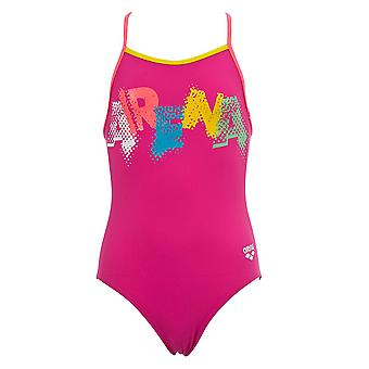 Arena Kids Girls Car Swimsuit Bathing Suit Swimming Costume Swimwear
