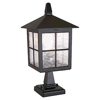 Traditional Outdoor English Style Pedestal Lantern IP23