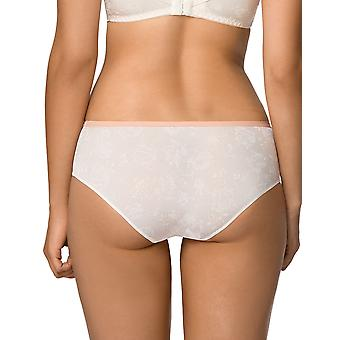 Nipplex Women's Susana Milk Off-White Floral Knicker Shorties Boyshort