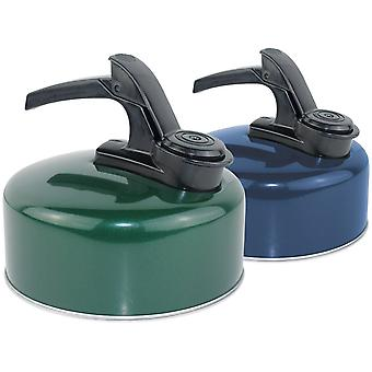 Yellowstone 1L Aluminium Whistling Kettle