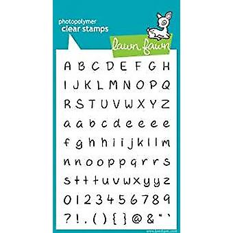 Lawn Fawn Clear Stamps Jessie's ABCs (LF319)