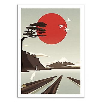 Art-poster-vakanta stockar-Yetiland 50 x 70 cm