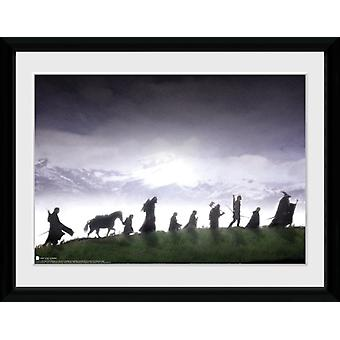 Lord of the Rings Fellowship Framed Collector Print 40x30cm