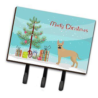 Shepherd Pit Mix #2 Christmas Tree Leash or Key Holder