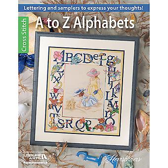 Leisure Arts-A To Z Alphabets LA-6487