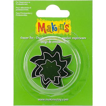 Makin's Clay Cutters 3/Pkg-Sun M360-32