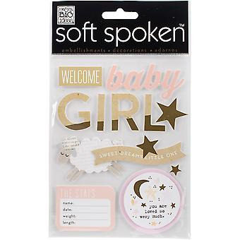 Soft Spoken Themed Embellishments-Sweet Dreams Girl SS-1588
