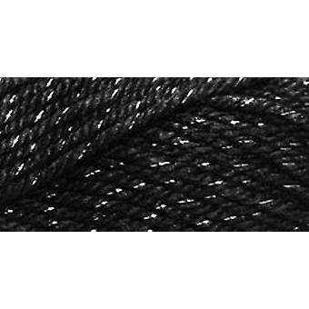 Simply Soft Party Yarn Black Sparkle H97par 7