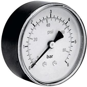 Manometer ICH 306.40.16 Back side 0 up to 16 bar External thread 1/8