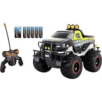 Dickie Toys 201119455 1:16 RC model car for beginners Electric Monster truck RWD