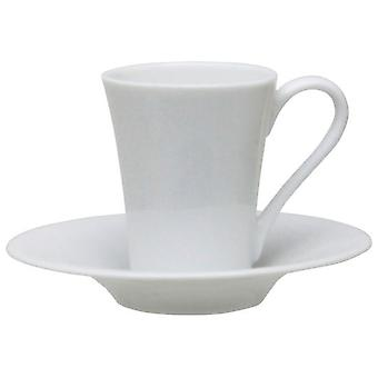 Avet Coffee Cup With Plate Set of 6 130ml