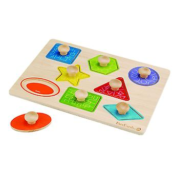 EverEarth Puzzle Shapes (Toys , Preschool , Puzzles And Blocs)