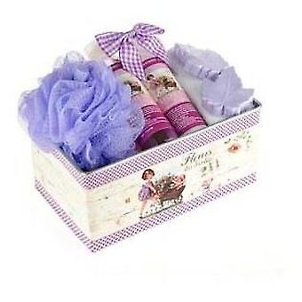 Flor de Mayo Large girl cart can lavender