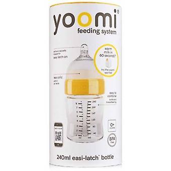 Yoomi bouteille avec tétine stade 1:240 ml