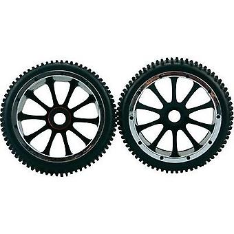 Amewi 1:5 Buggy Wheels Multipin 10-spoke Black 1 pair