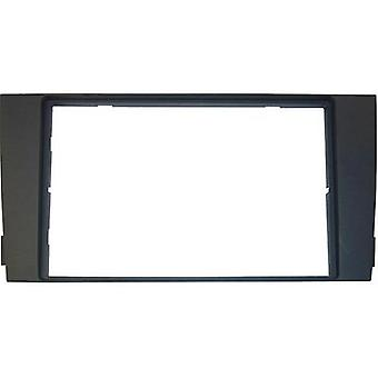 Car stereo double DIN faceplate AIV Audi A6
