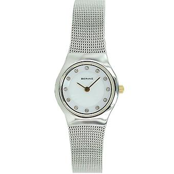 Bering ladies slim watch clock classic - 11923-004 Meshband