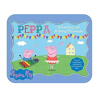 Peppa Pig Colouring & Activity Placemats Childrens Party Stocking Filler